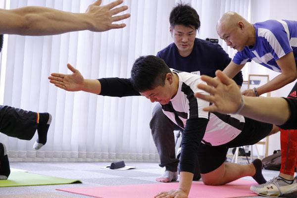 名古屋 スタビライゼーション 体幹・体軸トレーニング