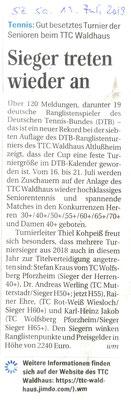 Schwetzinger Zeitung 13.7.19