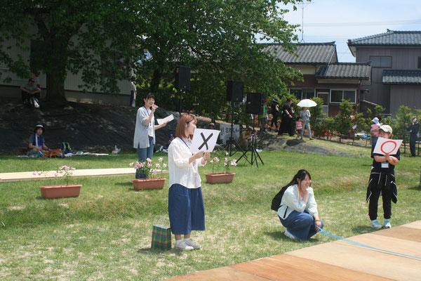 新潟大学ダブルホーム「さんせっと」 趣向を凝らしたクイズ大会