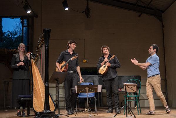 Ensemble C Barré ,Mikel Urquiza compositeur,  20/7/17
