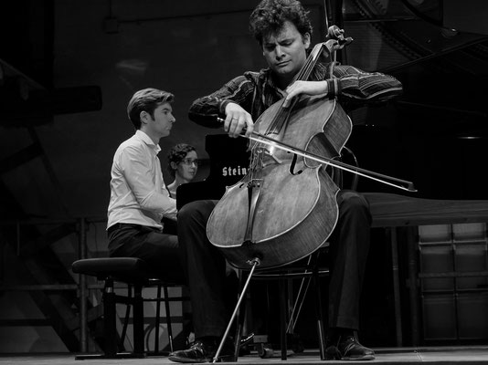 Jérémie Honnoré p, Sébastien Hurtaud Cello, 25/7/17