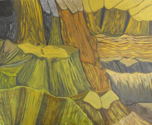 Gneiss. Oleo sobre lienzo. 130 x 160 cm. 2009.