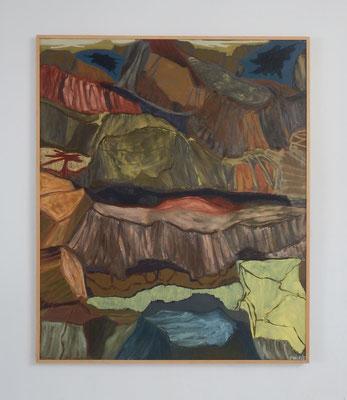 Bosque petrificado II. óleo sobre lienzo. 150 x 125 cm. 2006-2007