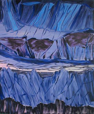 Sin título.oleo-lienzo.65 x 50. cm. 2009