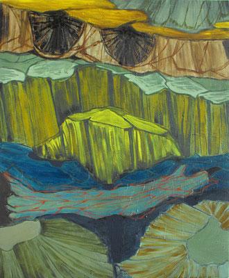 Sin título.oleo-lienzo.65 x 50. cm. 2009.