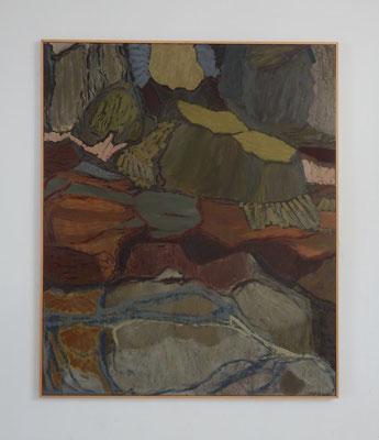 Bosque petrificado. óleo sobre lienzo. 150 x 125 cm. 2006-2007