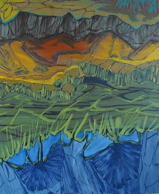Sin título.oleo-lienzo.65 x 50. cm. 2009. En colección particular