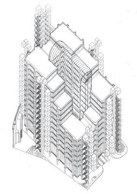 全体構成図(西南側鳥瞰)