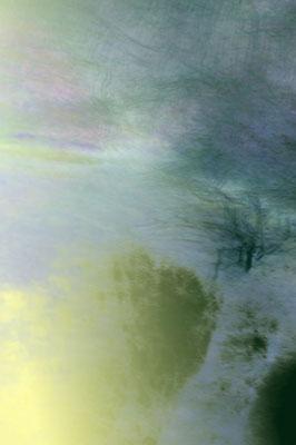 Echos de la mare 2, tirage encres pigmentaires sur papier Arches museum 315g, 50 x 75cm, 10 exemplaires numérotés signés.