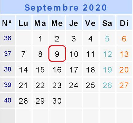 Track Day de Septembre