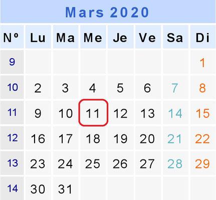Track Day de Mars