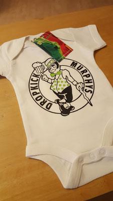 Babybody der Lieblingsband zur Geburt. Eine tolle Idee!