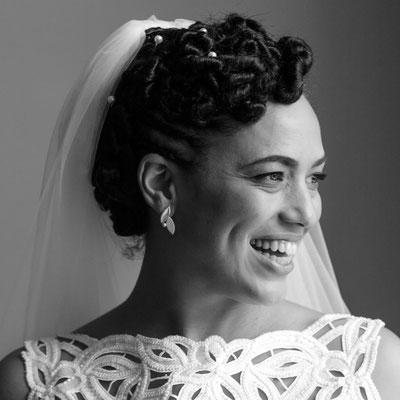Capiba Bijoux Boucles d'oreilles personnalisées mariage