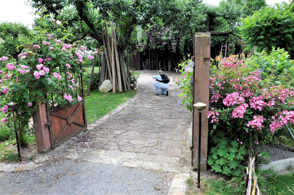 Garten Steinmetz mit unserer Fotografin Annemarie