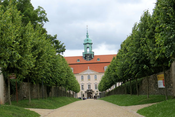 Ankunft in Schloss Lichtenwalde