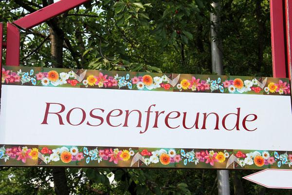 Unser Gartennachmittag 2013 fand im Garten der Familie Travniceck in Ebensfeld statt