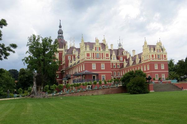 Glanzvoll renoviert: Schloss Bad Muskau