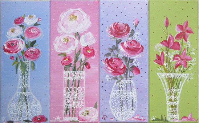 Fleurs fraiches 4x20x50