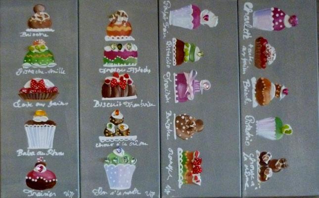 Mini cakes 4x20x50