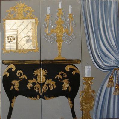 Versailles bleu 3x40x120