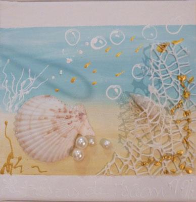 """Sous l'ocean"" detail"