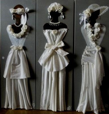 Mariées élégantes 3x90x30