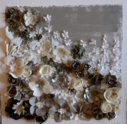 Fleuries lin 80x80