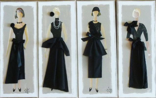 Elegantes en noirs 17 4x20x50