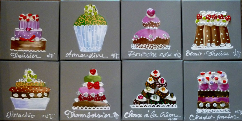 Patisseries 8x20x20