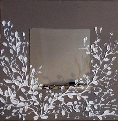 Branches miroir 60x60