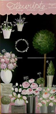 Fleuriste 2x90x90
