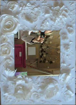 Decoupage blanc 50x70