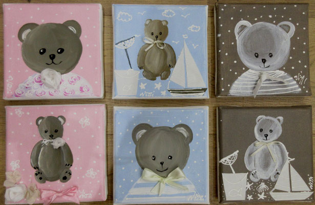 Oursons 6x20x20 cm