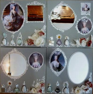 Parfums de Marie-Antoinette 4x30x30