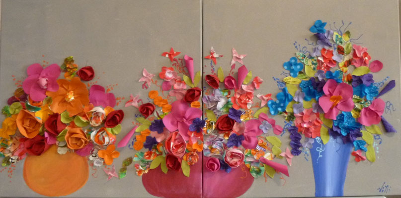 My flowers 2x50x50