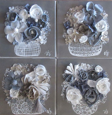 Bouquets 2020 30x30x4