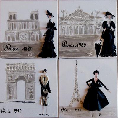 Siècle de Paris 30x30x4