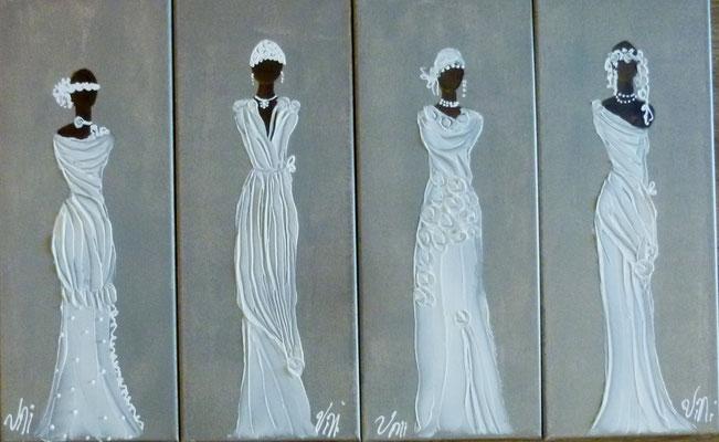 Mariées sculptées 4x20x50