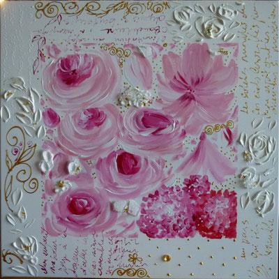 Histoire de roses 80x80