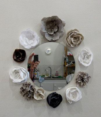 exemple de décor avec fleurs de lin