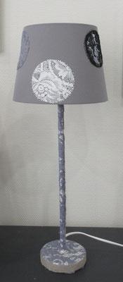 Lampe dentelles