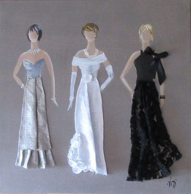 Robes de cocktail 50x50 cm