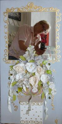 Bouquet et colonne 40x120