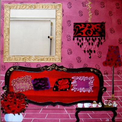 Le canapé rouge 80x80