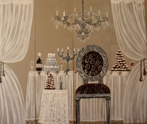 Banquet 4x150x50 ou 4x120x40