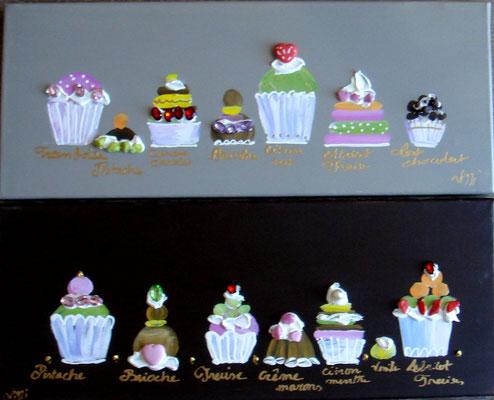 Cakes classiques horizontal 4x20x50