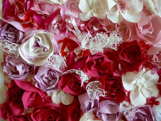 Détail fleurie rose