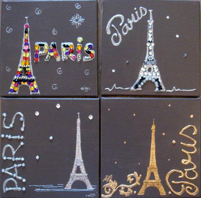Paris mania 4x30x30