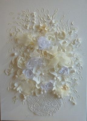 Bouquet de mariage 50x70