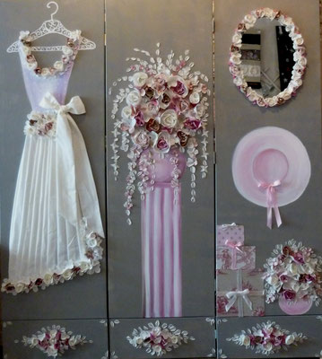 Mariage de rêve en rose2    3x50x170
